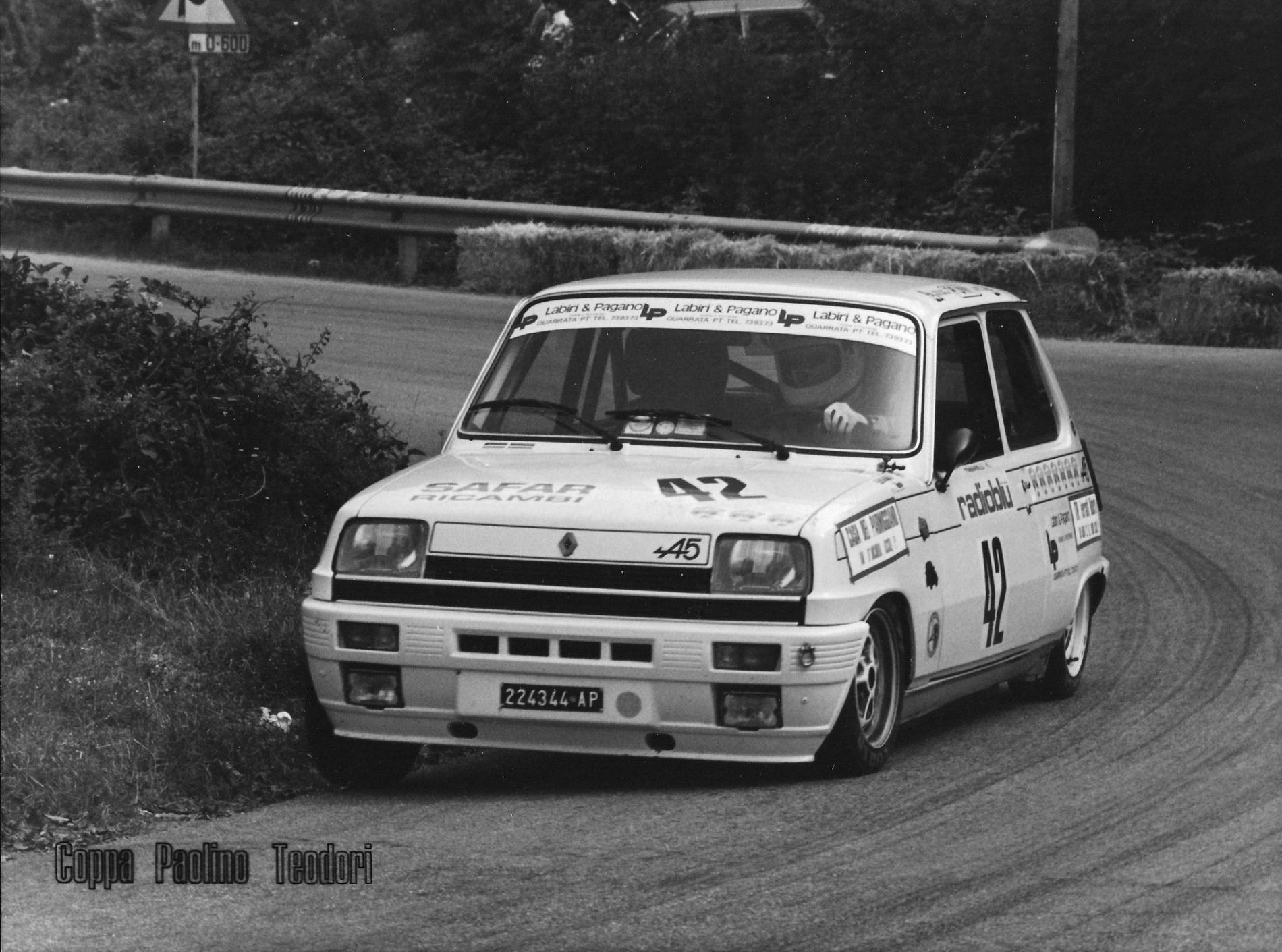 1981 Enrico Tommarelli - Renault Alpine