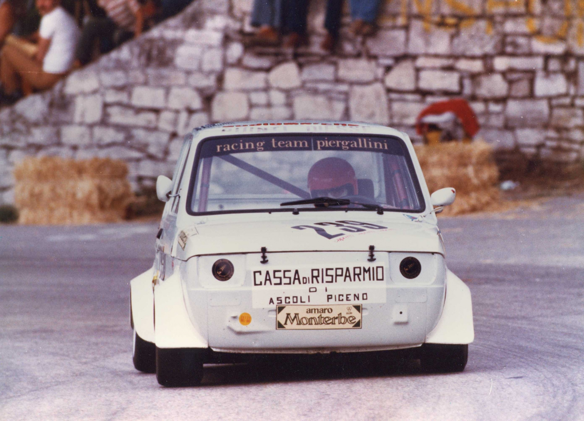 1981 Giuseppe Spaccasassi  Fiat 126 gr.5