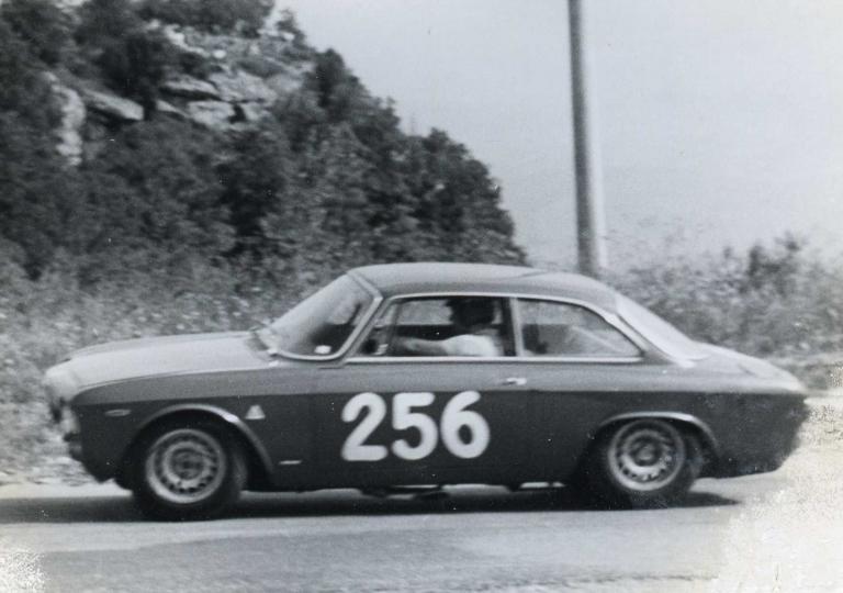 1966 A Enrico Pinto, vincitore l'anno precedente,non riesce il bis con l' Alfa GTA 1600
