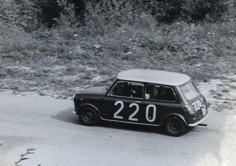1966 Minen Achille Mini Cooper 1300 cat.Turismo