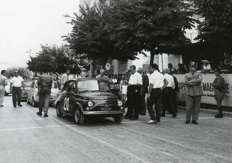 1967 Liliana De Menna, Fiat 500 cat.Turismo