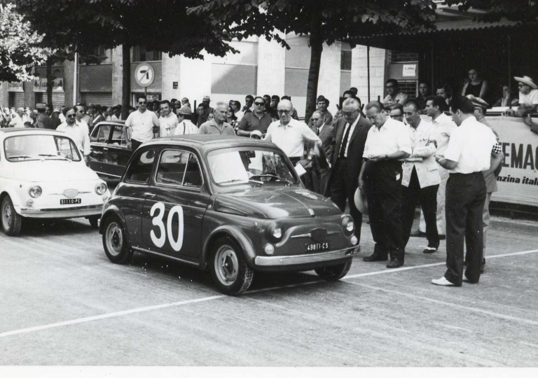 1967 Loizzo Sergio (30) e Pizii Gaetano (34) Fiat 500 cat.Turismo