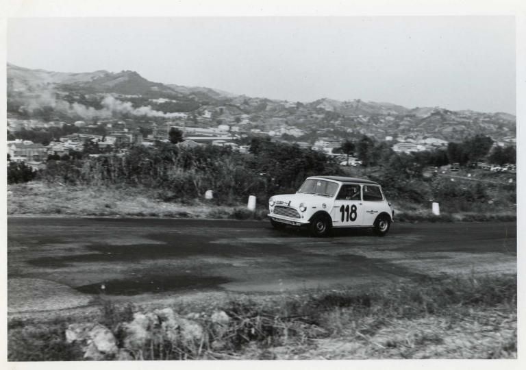 1967 Mantovani Eugenio Mini Cooper 1300 cat.Turismo