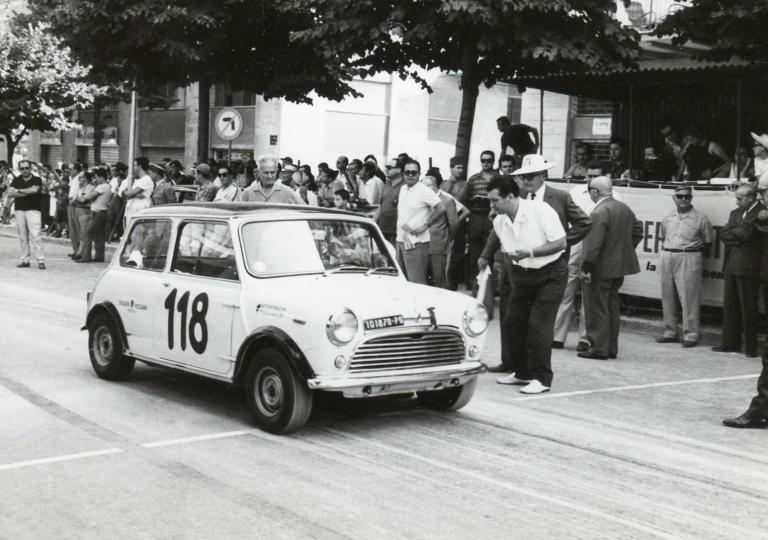1967 Mantovani Eugenio Mini Cooper 1300 cat.Turismo (2)