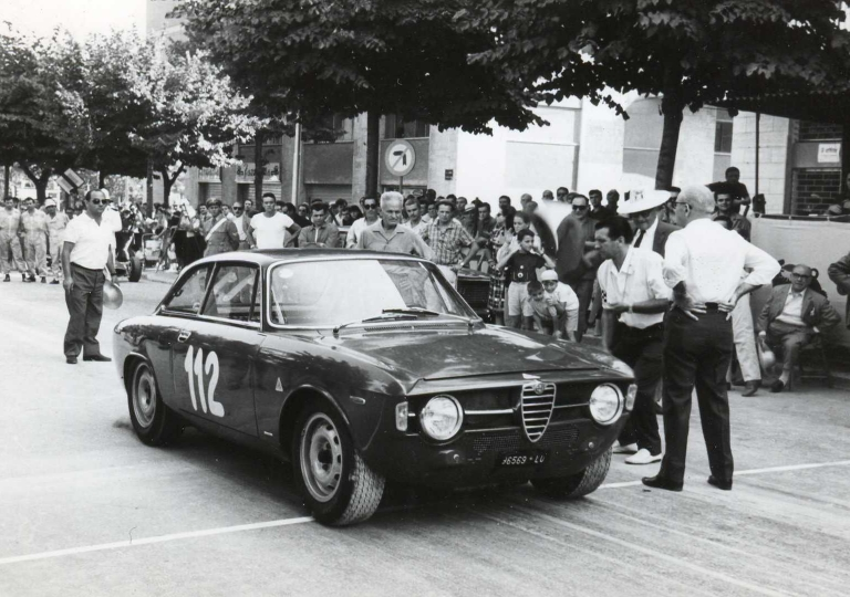 1967 Nanni -Galli Giovanni- Alfa GTA 1300 cat.Turismo