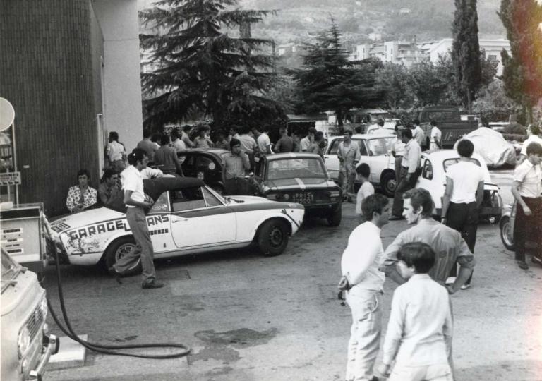 1969 Verifiche Cangelli Mario (Fiat 124 Sport) e Minozzi Paolo (Lancia Fulvia HF)