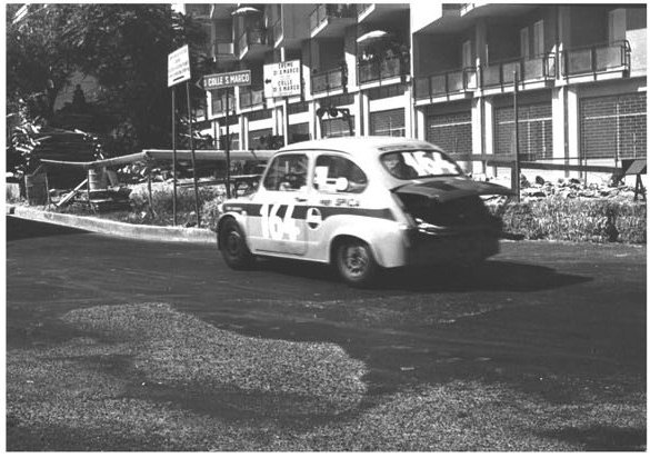 1970 Gino Ravinale su Abarth 1000 TC