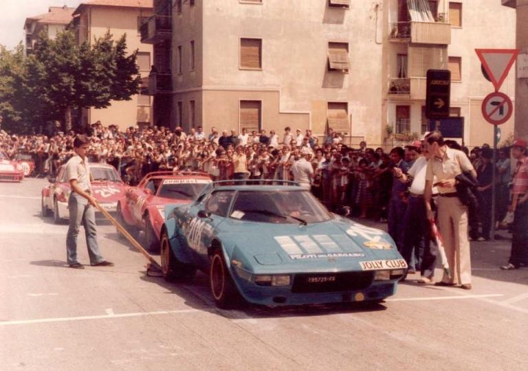 1977 Teodoro Peruggini, Lancia Stratos