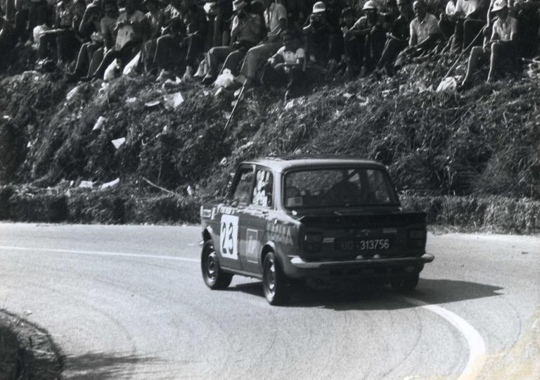 1978 Del Negro Paolo Simca Rallye gr.1
