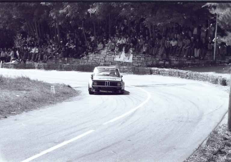 1978 Horst Schone su Bmw 2000 del team Warsteiner