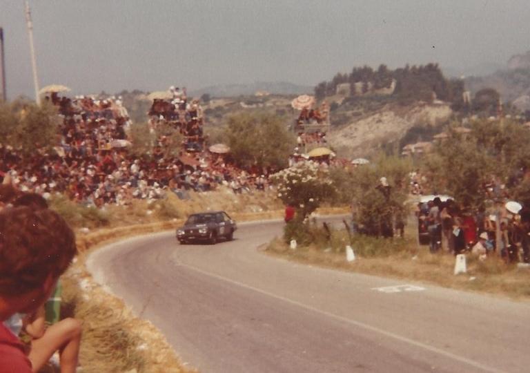 1979 Pasqualino Amodeo su Fiat 131 Racing
