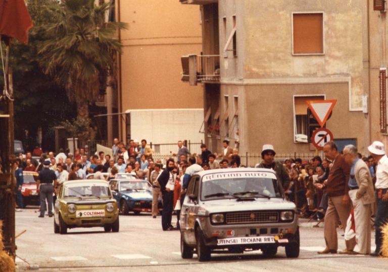 1981 Festuccia Leonardo (127) e Carpani Emidio Simca Rallye gr.1