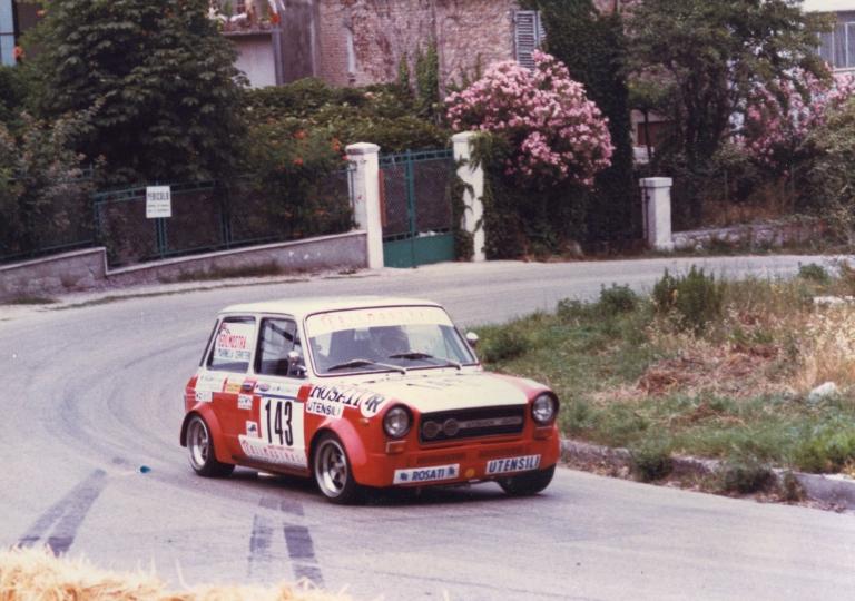 1981 Lucio Giosia A112 gr.2