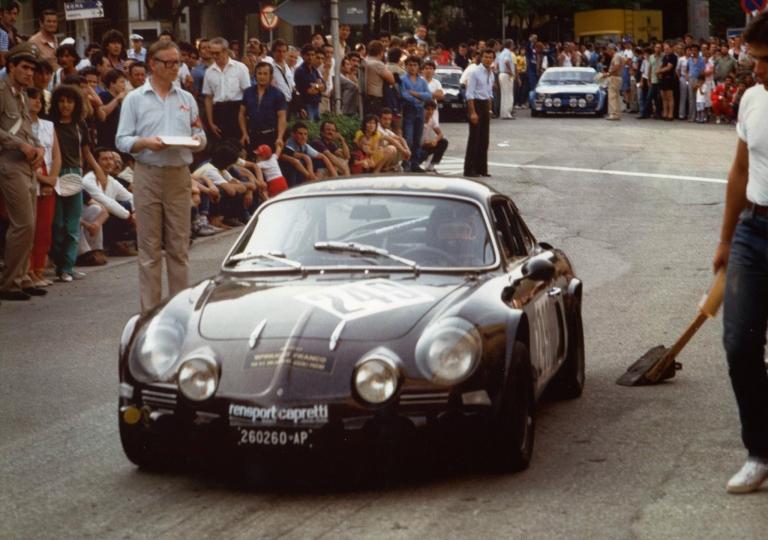 1982 Franco Spinucci pronto a partire