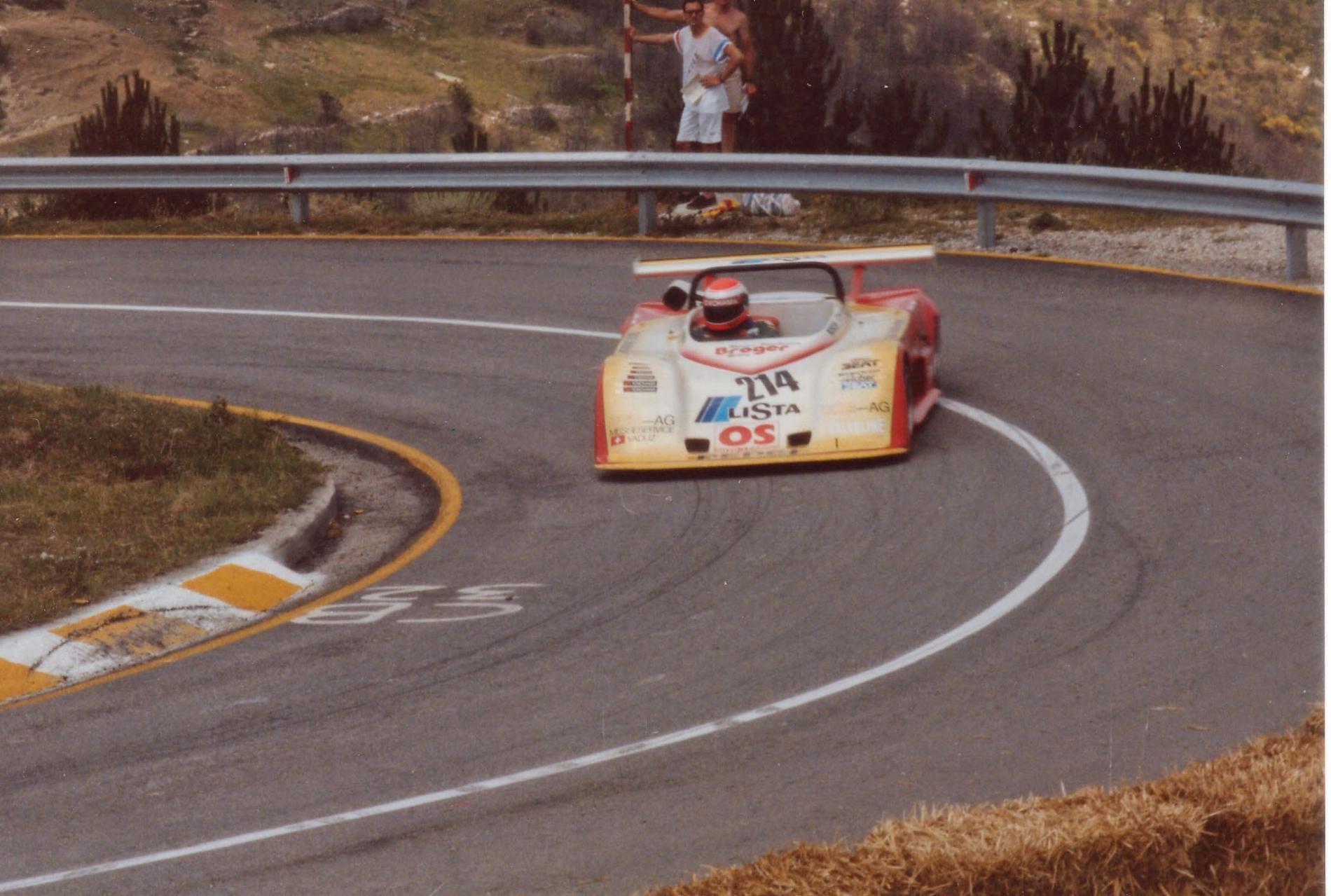 1987 L'austriaco Walter Pedrazza 1
