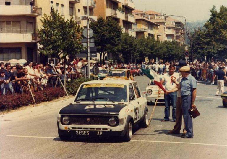 1979 Nazzareno Pomozzi in partenza