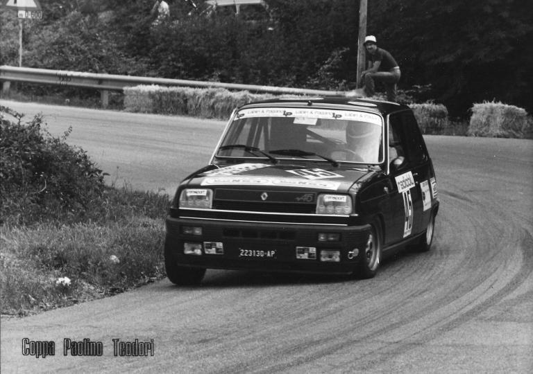 1981 Emilio Gabrielli - Renault Alpine