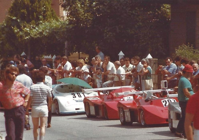 1984 Incolonnamento per Bernasconi, Compagnoni, Pezzolla e Rempicci